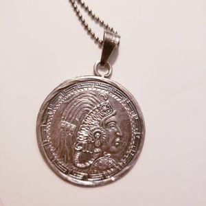 Vintage Mayan Pendant